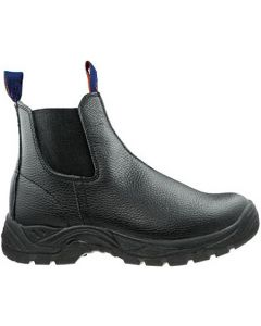 Slip On Safety Boots - BLACK