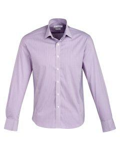 Mens Business Shirt L/S - GRAPE