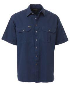 Drill Shirt S/S - NAVY