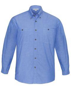 Mens Chambray Shirt L/S