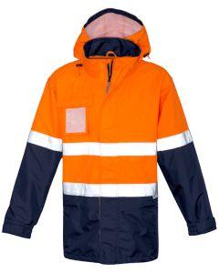 Racing Jacket - ORANGE NAVY