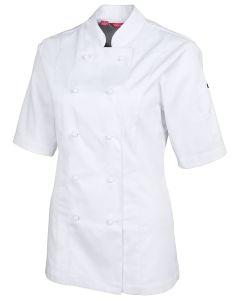 Ladies Chef Jacket S/S - WHITE