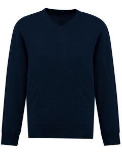 Mens Woolmix Pullover - NAVY