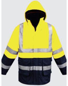Racing(All Weather) Jacket - YELLOW NAVY