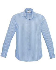 Mens Business Shirt L/S - BLUE