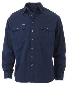 Drill Shirt L/S - NAVY