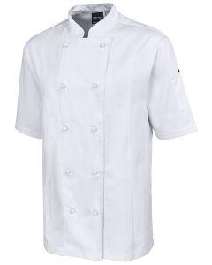 Unisex Chef Jacket S/S - WHITE