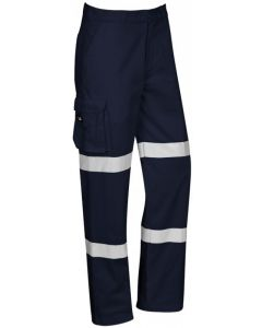 Taped Drill Pants - NAVY