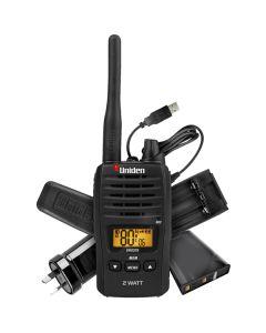 Uniden 2W UHF 2-WAY Handheld CB Radio