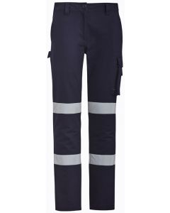 Ladies Taped Drill Pants - NAVY